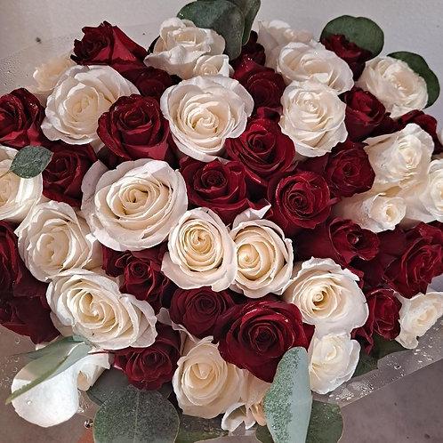 5 dozen roses Bouquet