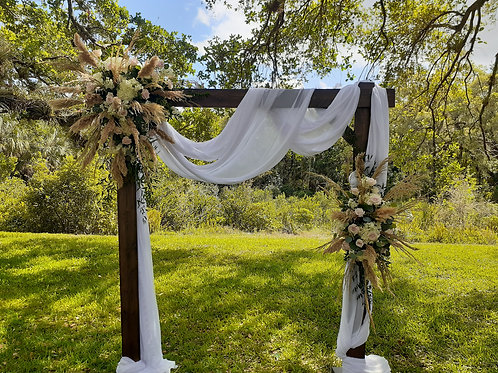 Wedding Flower Arrangements no arch included just flowers must have arch