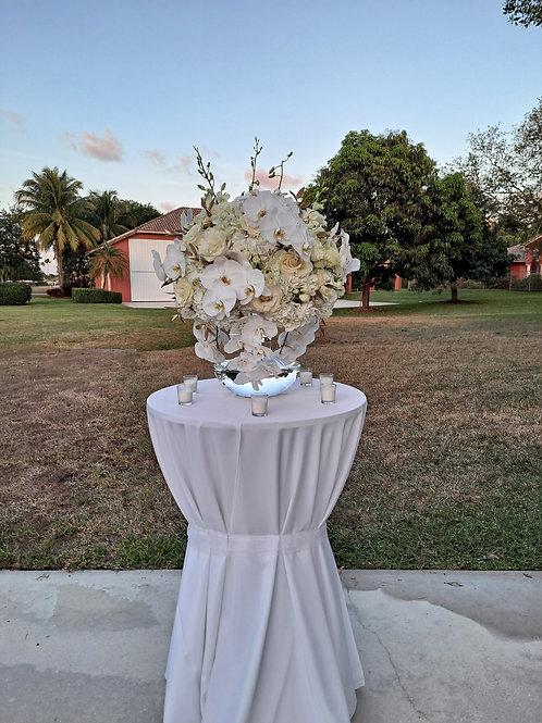 Wedding Arrangement white
