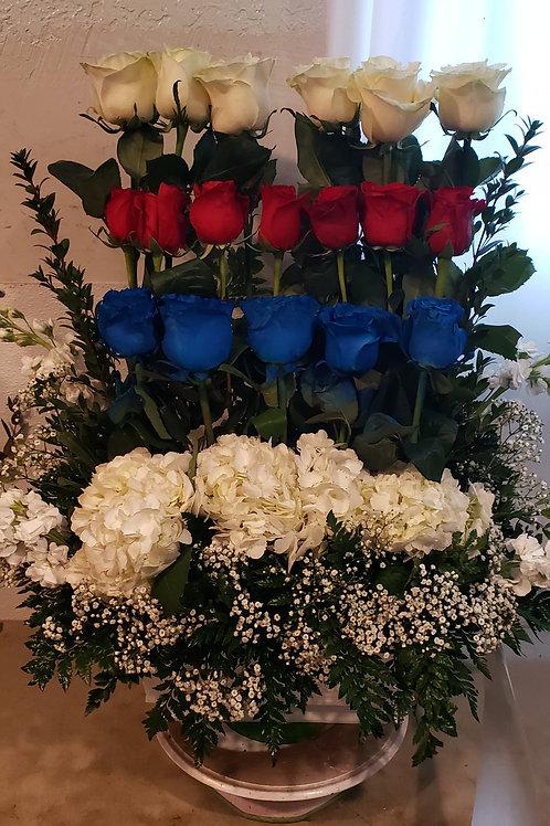 Patriot flowers