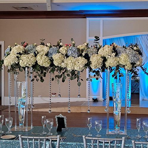 Wedding Flower arrangement Four Feet