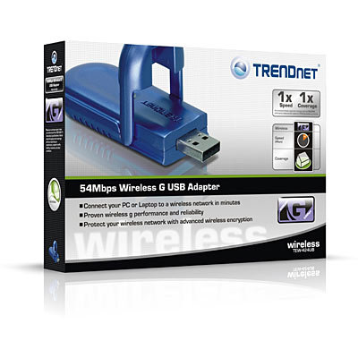 trendnet 54mbps Wireless G USB Adapter