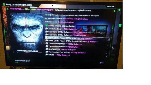 Android Tv S805 KODI 16.2 QuadCore 2GB/8GB