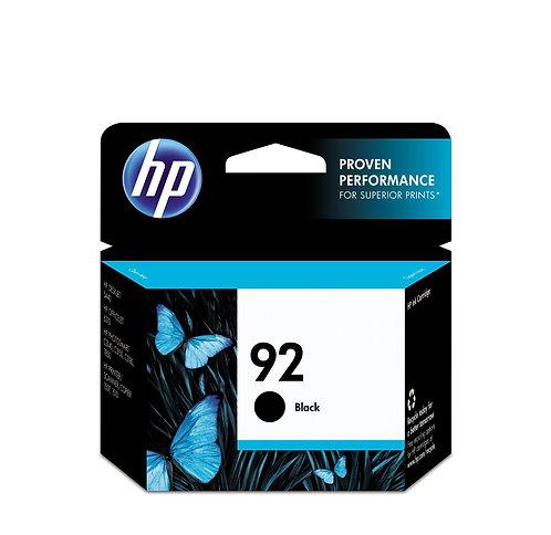 HP 92 Black Ink Cartridge in Retail Packaging -C93