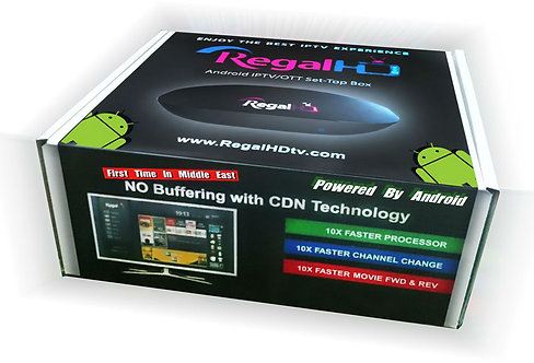 REGAL HD BOX SDN TIC 10 TIME FASTER THEN OTHER IPT