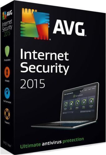 AVG Internet Security 2015 ( 2 years Subscription