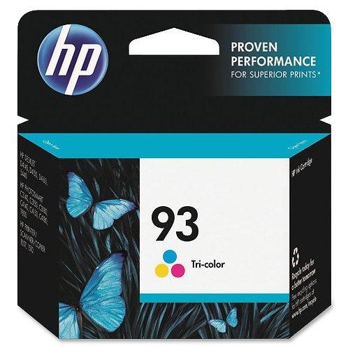 HP 93 C9361WN#140 Tri-Color Ink Cartridge in Retai