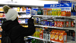 Kombini – a loja de conveniência japonesa e os saquês