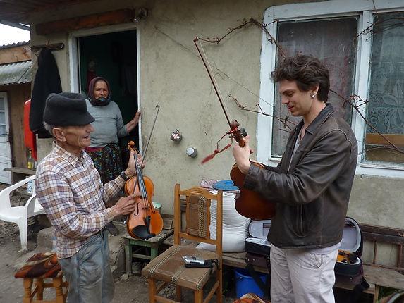 Jake Shulman-Ment with Nicolae Covaci