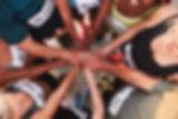 Teambuilding, Hände, Sportler, Handschalg