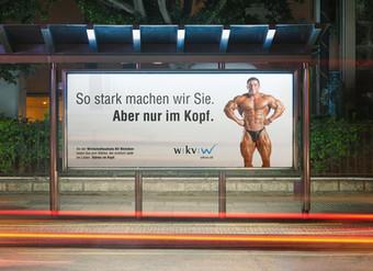 Idee und Gestaltung Werbeplakate