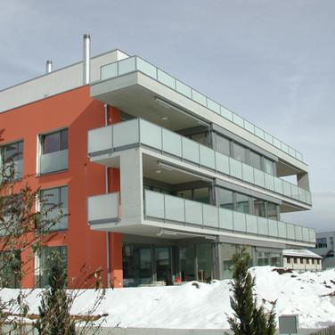 Neubau Mehrfamilienhaus Bildau Rapperswil 2004
