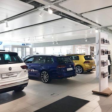 AMAG JONA | Showraum Porsche und VW 2012