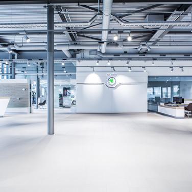AMAG JONA   Showraum Skoda 2017