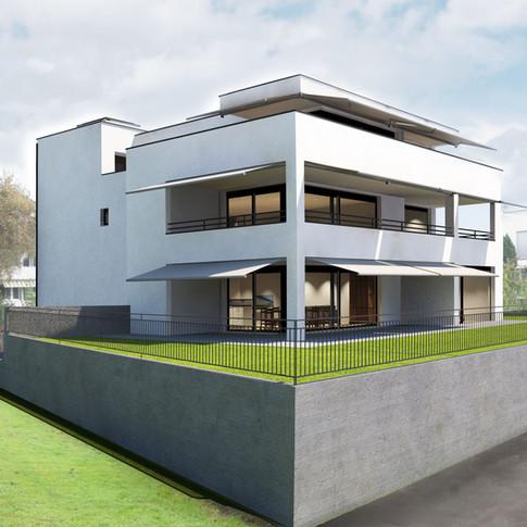 Neubau Mehrfamilienhaus Reiherweg Jona 2018