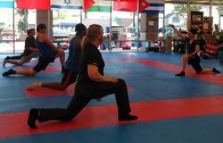 FightFit Lunge Stretch