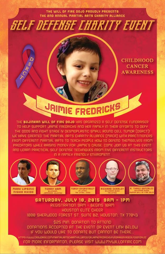 Self-defense Fundraiser 2015