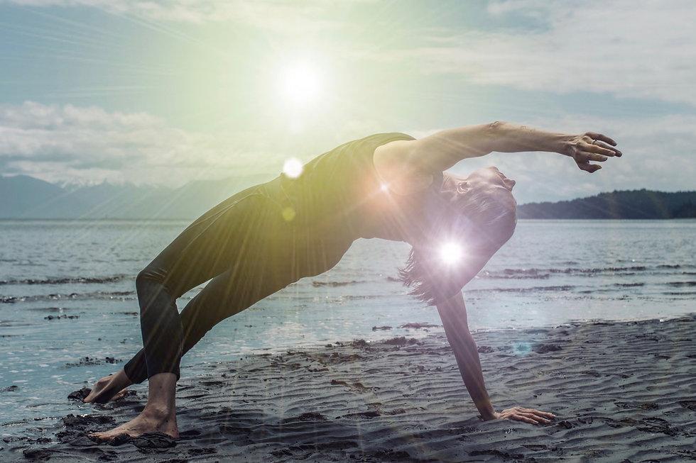 Wild Thing Yoga Asana