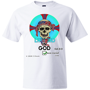 Christ Pantocrator White TEE -- DynamicI