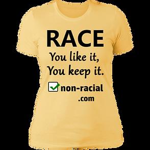 Race You Like It You Keep It -- DynamicI