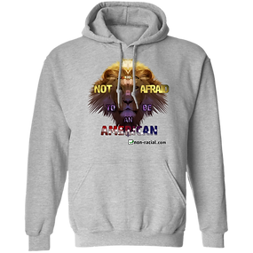 Not Afraid Hoodie Grey -- DynamicImageHa