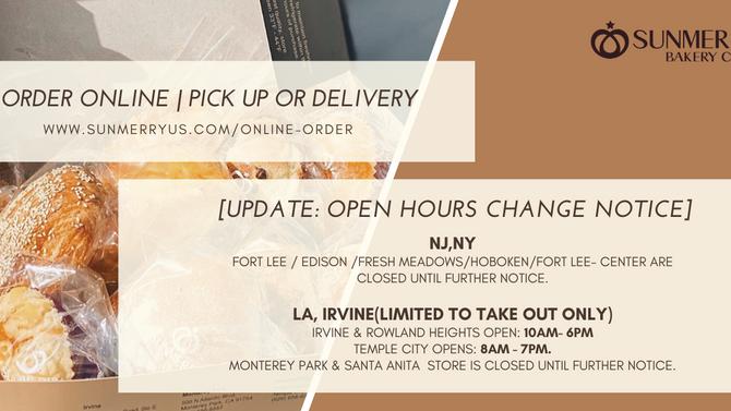 Update: Open Hours Change Notice