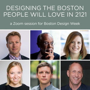 BDW21 Designing the Boston People Will Love in 2121