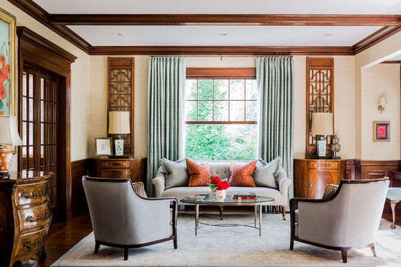 Arts & Crafts living room