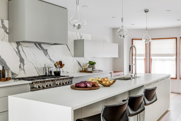 Butz & Klug townhouse kitchen