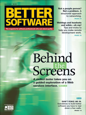 Behind the Screens issue cover