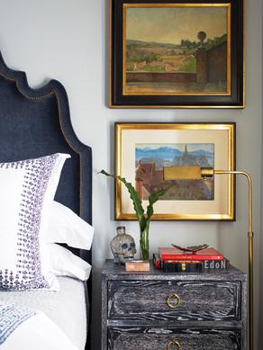 Shor Home master bedroom detail