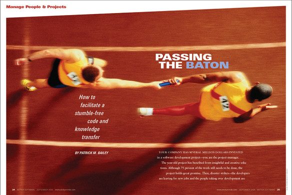 Passing the Baton feature opener