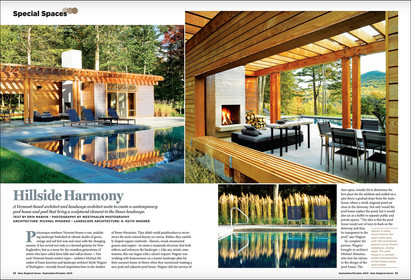Special Spaces opener Vermont Poolhouse