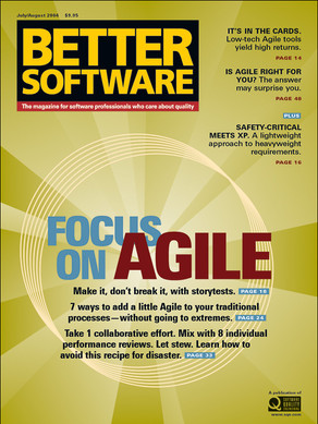Focus on Agile typographical cover