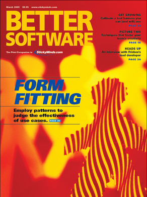 Form Fitting issue cover