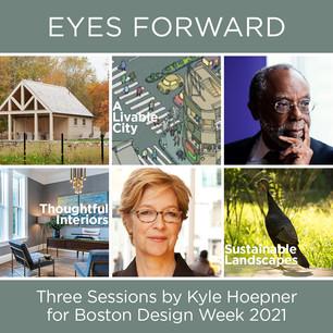Kyle Hoepner sessions for Boston Design Week 2021