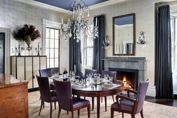 Jean Verbridge dining room on Beacon Hill