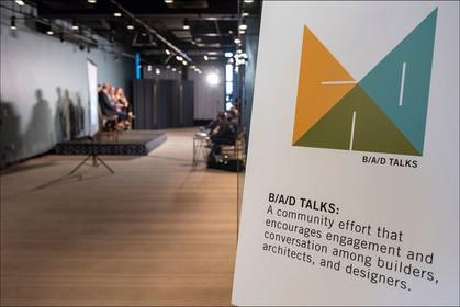 BAD Talks intro sign