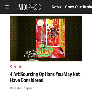 AD PRO story: 4 Art Sourcing Options You May Not Have Considered