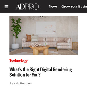 AD PRO story: What's the Right Digital Rendering Solution for You?