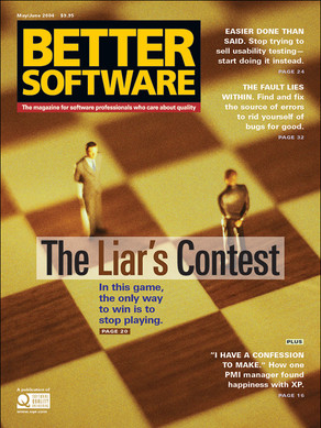 Liar's Contest issue cover