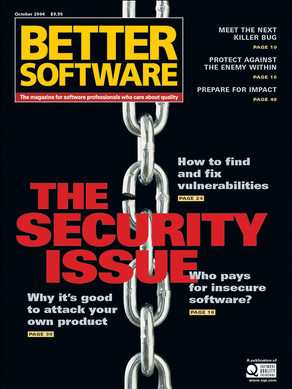 The Security Issue cover