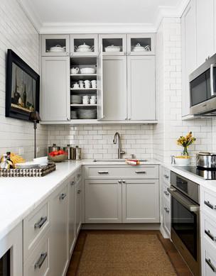 Shor Home white kitchen