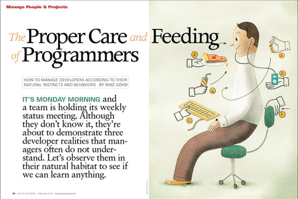 Care and Feeding feature opener