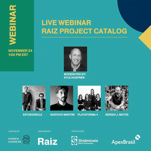 Raiz Project: Brazilian furniture webinar