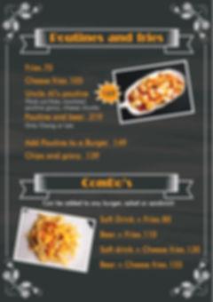 ando poutin menu