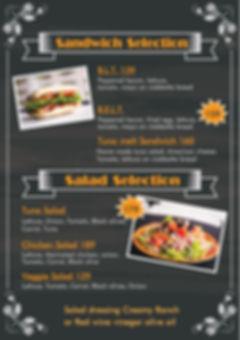 ando sandwich menu
