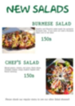 ando salads menu