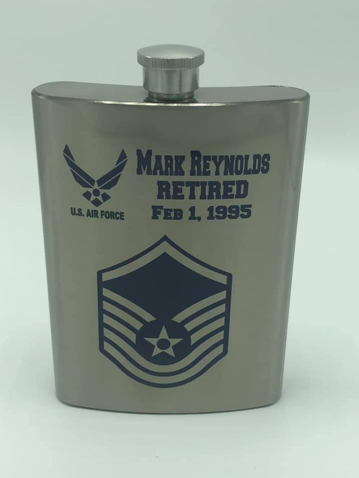 Sublimated Military Flask