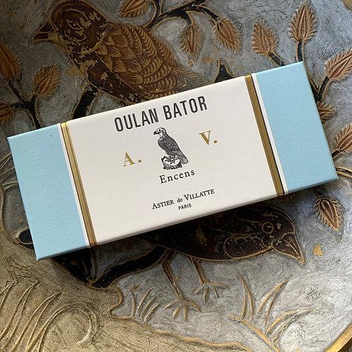BOX OF INCENSES Oulan Bator A.d.V